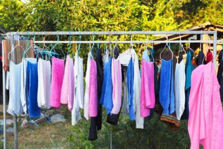 Consejos para secar la ropa en el tendedero